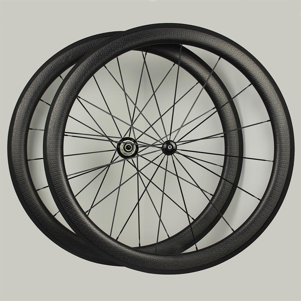 chinese cheap free ship carbon wheels 50*25mm ERD 538.4mm 20/24 holes basalt braking surface dimple wheels rim