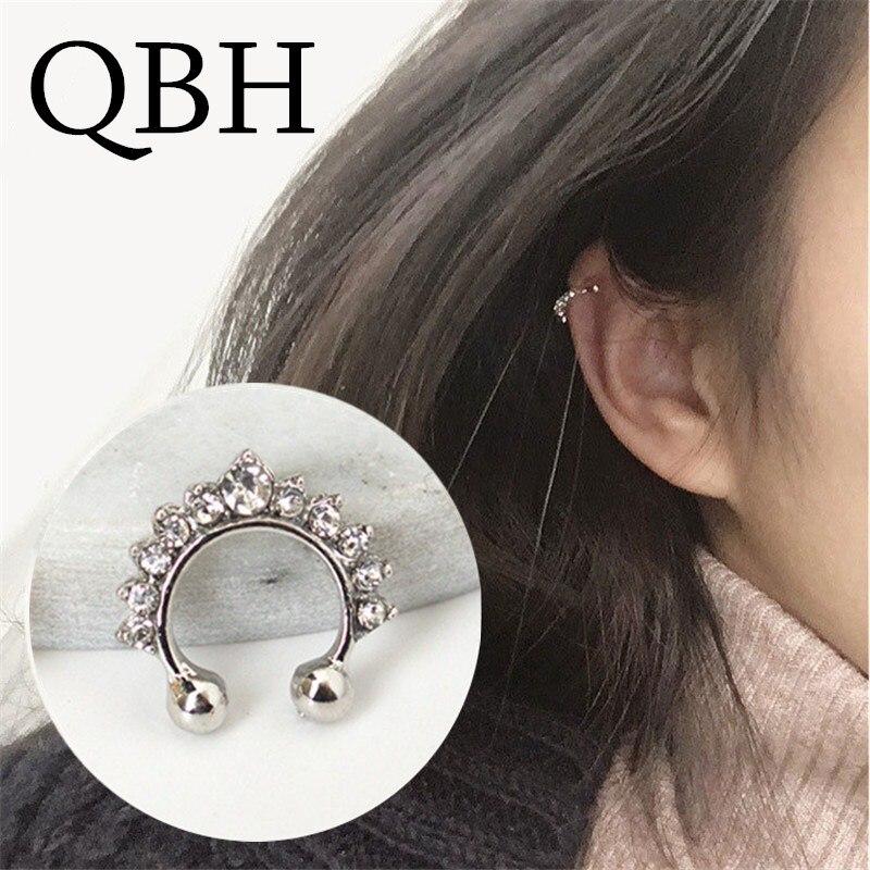 EG/_ WOMEN/'S RHINESTONE EYE TEAR PENDANT EYELASH EARRINGS EARDROP JEWELRY NOBLE