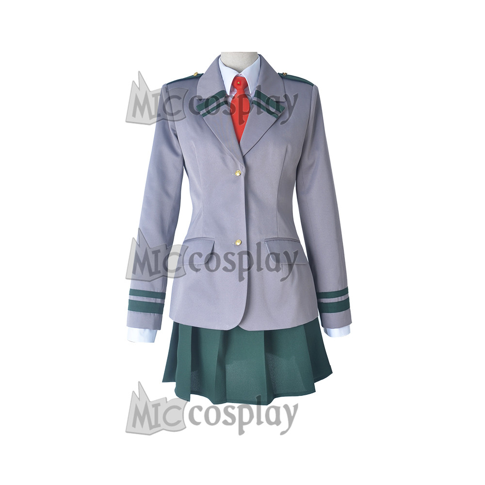 My Hero Academia Female Cosplay Costume School Uniform Women Suit Skirt