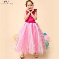 Ellie S Bridal Fancy Girl Flower Dress Kids Party Dresses For Girls Sleeveless Dress Flower Girl