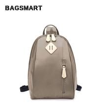 BAGSMART Новое поступление дизайнерский бренд маленький рюкзак школьный рюкзак для подростков девочек нейлоновые рюкзаки