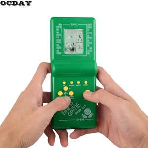 Brick Pocket-Game-Machine Tetris Educational-Toys Arcade Electronic Children Retro Classic