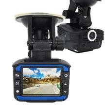 Alta calidad HD 720 P Ocultos Cámara de Vídeo Del Coche DVR Del Vehículo 2en1 detector Del radar Del Coche dvr grabador Dash Cam cámara Russion voz