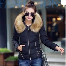 L-6xl зимняя куртка женщин 2015 зимнее пальто женщин теплое зимнее пальто вниз и парки casaco feminino AE841