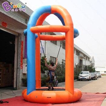 3X3X5 metri gonfiabile trampolino bungee/bungee esercizio/gonfiabile bungee jumping giocattoli