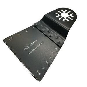 Image 3 - 20 قطعة 65 مللي متر من الأسنان اليابانية المتذبذبة شفرة المنشار لملحقات أدوات الطاقة متعددة مثل شرائح الخشب من خشب التتش دريميل