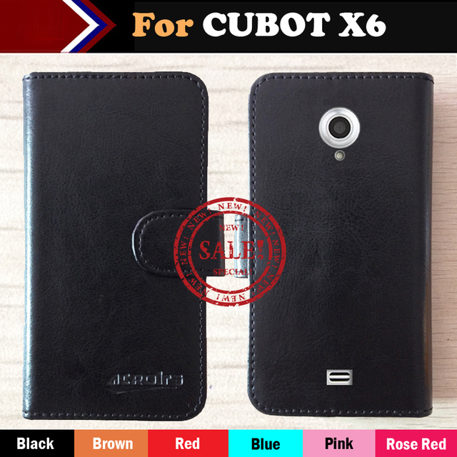 CUBOT X6 Case Dedicated Ultra-thin Luxury Protective Flip Leather Case For CUBOT X6 Pro Phone Cover Wallet Bags Style