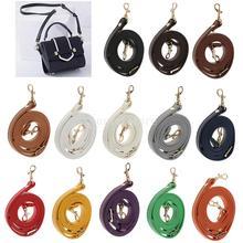 2pcs Handbag Strap Handbag Strap Replacement DIY Purse Handle Leather Purse Handle Bag Accessories with Metal Clasp 120 cm недорго, оригинальная цена
