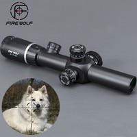 2 7X24 New Riflescopes Rifle Scope Hunting Scope w/ Mounts Free shipping