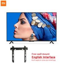 Xiaomi Smart ТВ 4A 32 дюймов HD ЖК-дисплей Экран английский Интерфейс телевидения 1 Гб+ 4 Гб 64 бит Cortex 4 ядра ТВ WI-FI для разъема HDMI USB