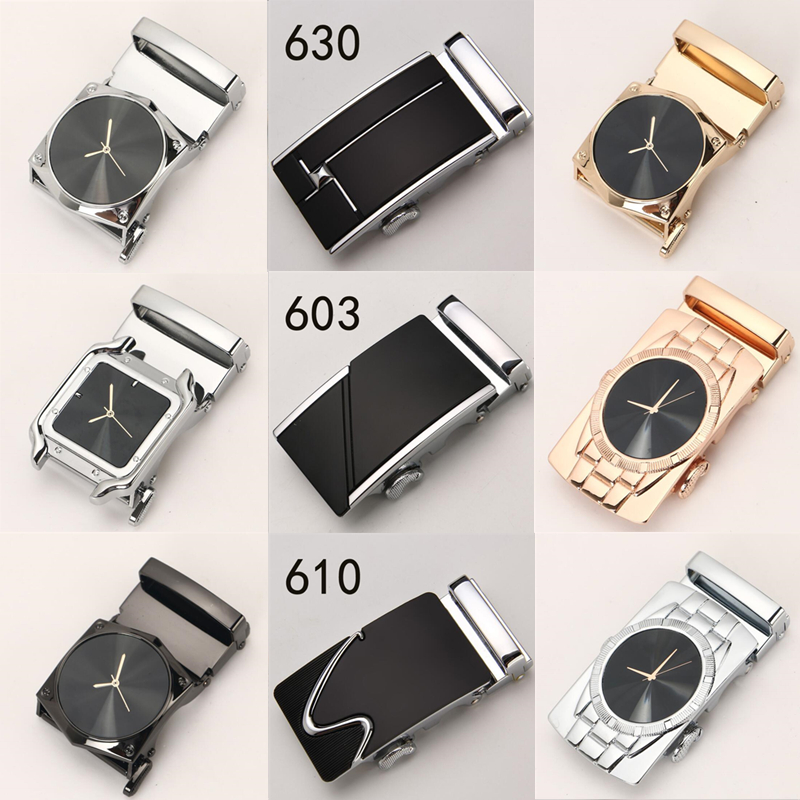 new Genuine Men's   Belt   Head,   Belt   Buckle, Leisure   Belt   Head Business Accessories Automatic Buckle Width 3.5CM luxury fashion Y32