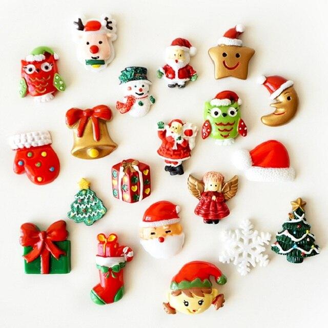 Fridge magnet christmas decorations for home magnetic board imanes ...