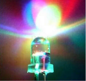 Light-Emitting-Diode Flash New-Products ROHS 100PCS 5MM 7-Color And LED Slow RGB 2PIN
