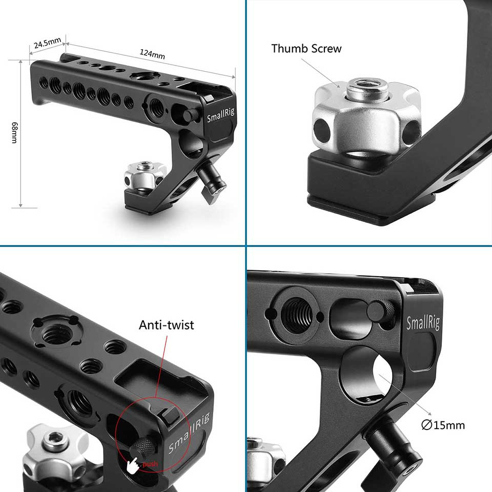 handheld tiro alça superior lado aperto 2094