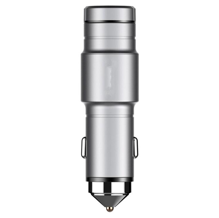 Multi-dispositif Compatibilité 2 dans 1 Portable 2.4A Super Rapide Chargeur De Voiture et Sans Fil Mains Libres De Voiture Bluetooth Écouteurs casque