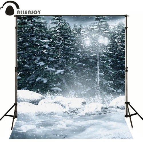 Vinyl cloth High quality Computer printed winter wonderland  backdrop white snow  Photography Backgrounds snowman village snow moon snowflake photo backdrop high grade vinyl cloth computer printed christmas photography backgrounds