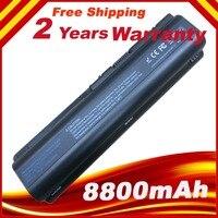 12 cells Laptop Battery For HP Pavillion battery HDX16 HDX16t DV4 DV5 DV6 free shipping