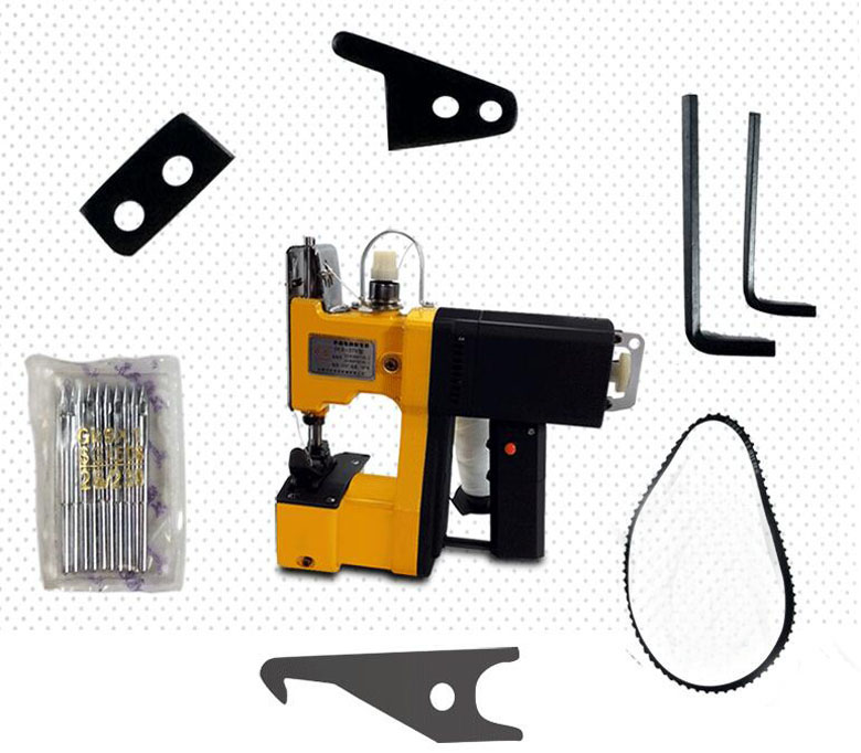 220V Portable electric sewing machine Packet machine Bag sealing machine Baler GK9-370 cb3200 harness leather heavy leather sewing machine for saddle and harness tote bag and shoes special sewing machine 220v 50hz