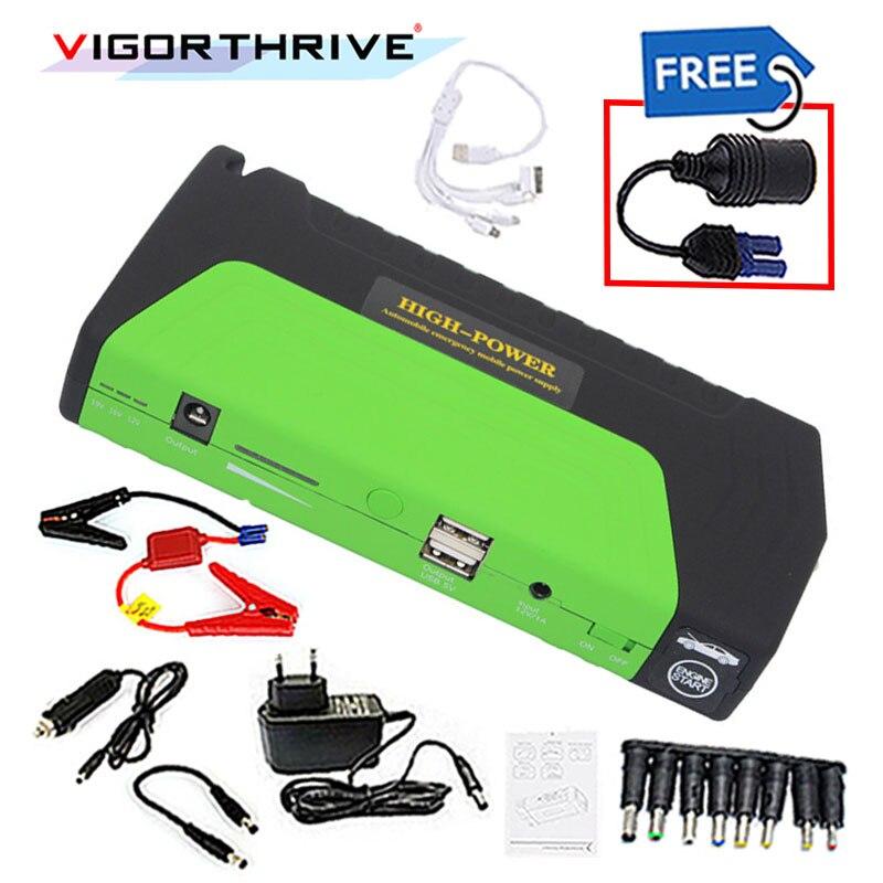 Pour voiture essence 600A batterie 12 V démarreur voiture saut démarreur Portable batterie externe chargeur de voiture Mini dispositif de démarrage d'urgence booster - 3