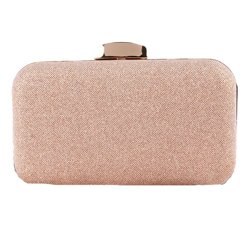 Women Clutch Bags Ladies Rose Gold Evening Bags Wedding Bridal Handbags Purse Bags Holder ...