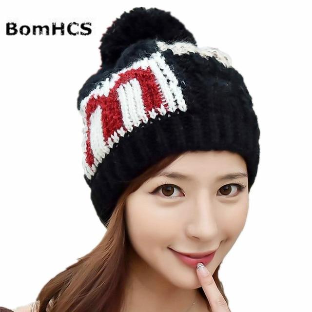 BomHCS Women s Fashion Winter Warm Letter