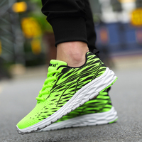 2017 Men Shoes Men Breathable Casual Shoes Spring Autumn Men High Quality Lightweight Lace Up Mesh