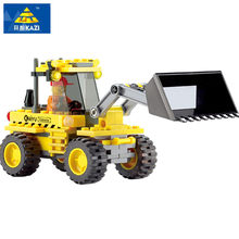 117Pcs LegoINGs City Construction Bulldozer Building Blocks Sets Truck Creator Bricks Playmobil Educational Toys for Children(China)