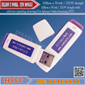 ZXW dongle  Zillion x Work / with software repairing drawings For Iphone Nokia Samsung HTC and so free ship
