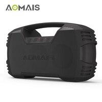 AOMAIS GO Bluetooth Динамик 30 Вт Беспроводной стерео сопряжения бум бас Динамик 30 час игр IPX7 Водонепроницаемый портативные колонки