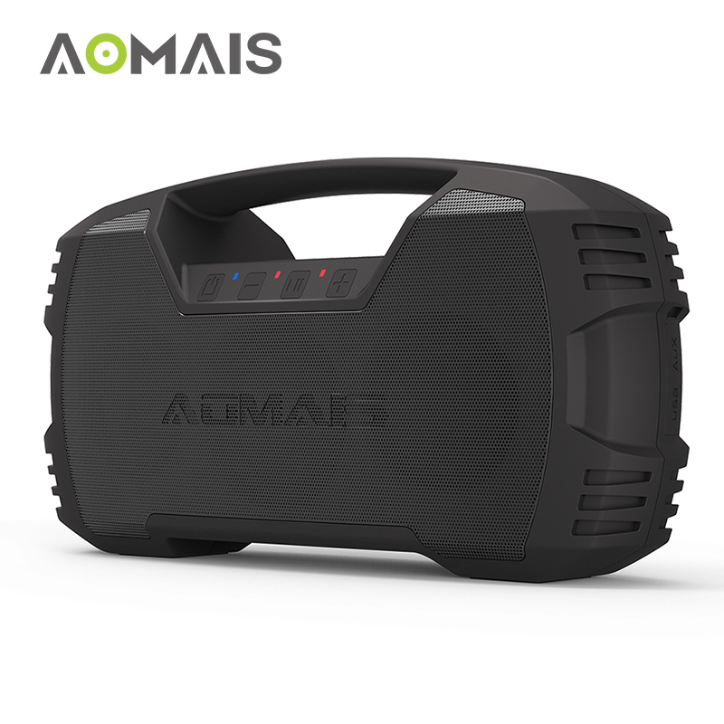 AOMAIS GO Bluetooth Speaker 30W Wireless Stereo Pairing Booming Bass Speaker 30-Hour Playtime IPX7 Waterproof Portable Speakers