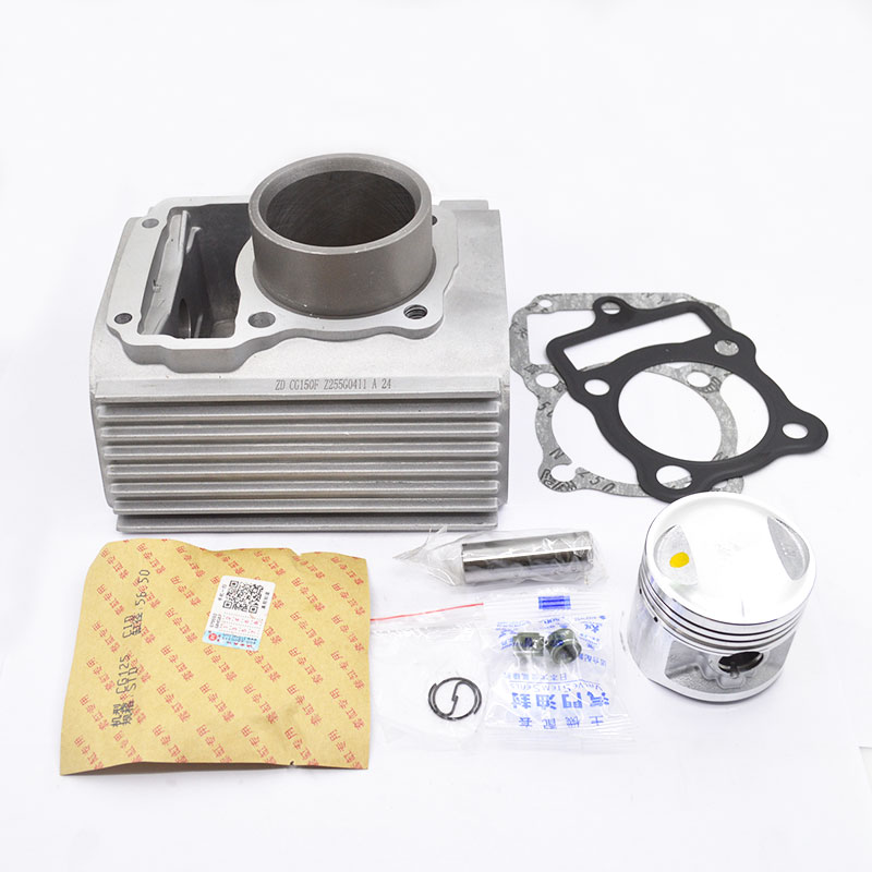 High Quaity Motorcycle Cylinder Kit For ZONGSHEN CG200 CG 200 Boiling Type Water-cooled Engine Spare Parts zoomer ruckus fi nps50 engine frame extend extension kit cables silver motorcycle center parts