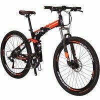 Горный велосипед EUROBIKE G7 BMX 21 Скорость двойной дисковый тормоз велосипед