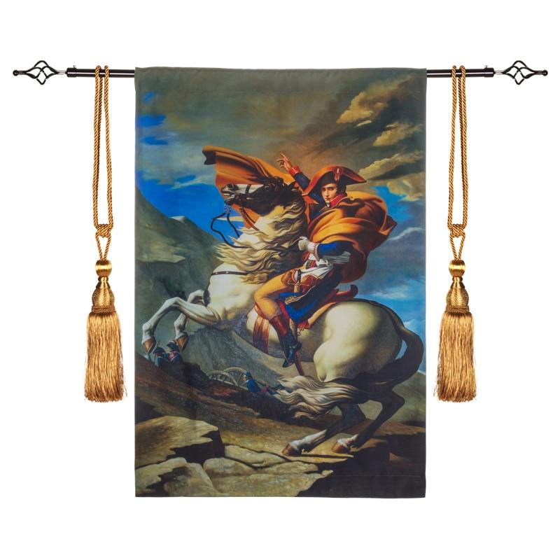 70x100 cm Napoléon Classique Belgique Tapisserie Mur Tapis Marocain Décor Décoration de La Maison Tissu Tenture