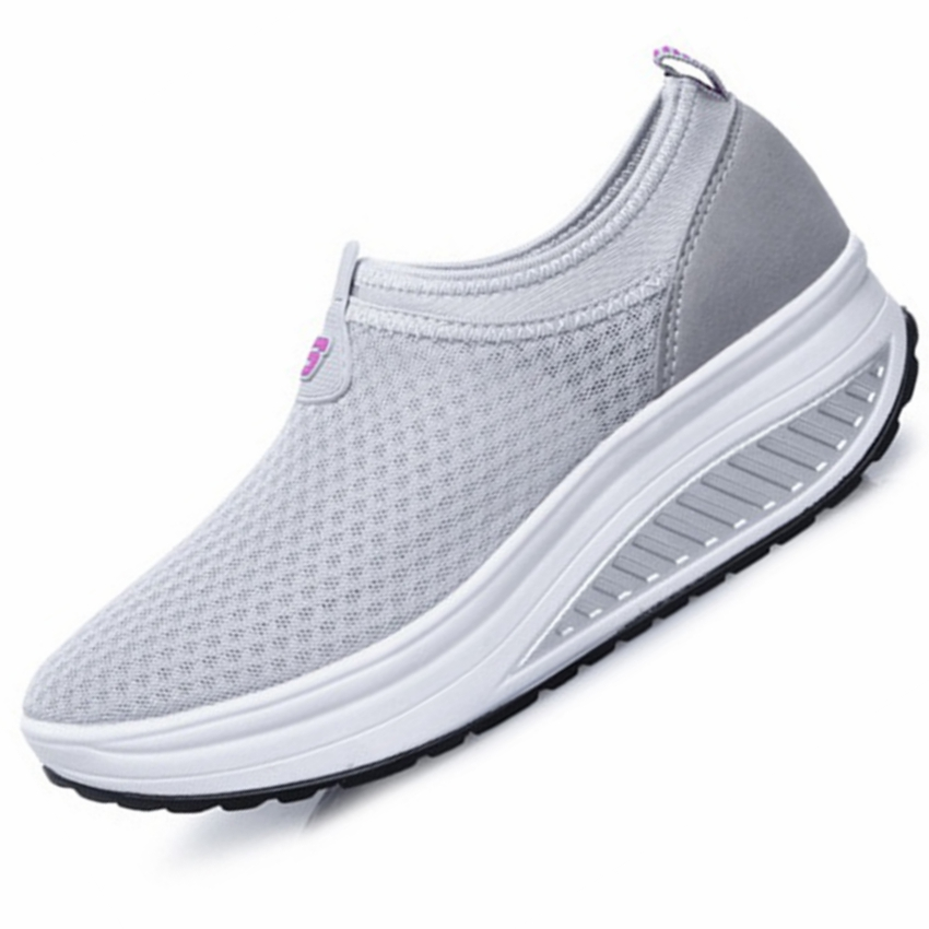 Sneakers Running Shoes Gogoruns Women Breathable Outdoor Sport Running Shoes Ladies Swing Platform Fitness Training Shoes Girls Running Sneakers