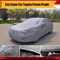 Car Cover Dust Snow Rain Sun Resistant Protector Outdoor UV-Anti Cover Waterproof Exterior Accessory Fit Previa Prado