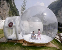 Transparent outdoor camping Inflatable clear Bubble Tent