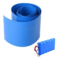2M Lithium Battery Heat House Shrink Tube Li-ion Wrap Skin 14500 18650 26650 PVC Shrinkable Tubing Film Tape Sleeves Dropship
