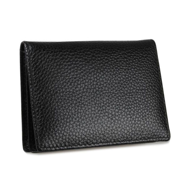 Genuine Leather Name Card Holder Box Business Name Card Holder Case ...