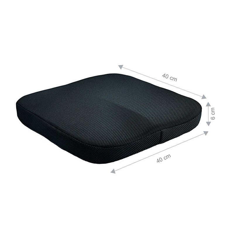Comfort Office เก้าอี้เบาะรถกันลื่น Orthopedic Memory Foam Coccyx Cushion สำหรับ Tailbone ตะโพกปวดหลัง