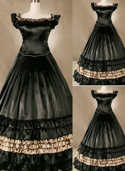 Online Get Cheap Black Victorian Dresses -Aliexpress.com | Alibaba ...