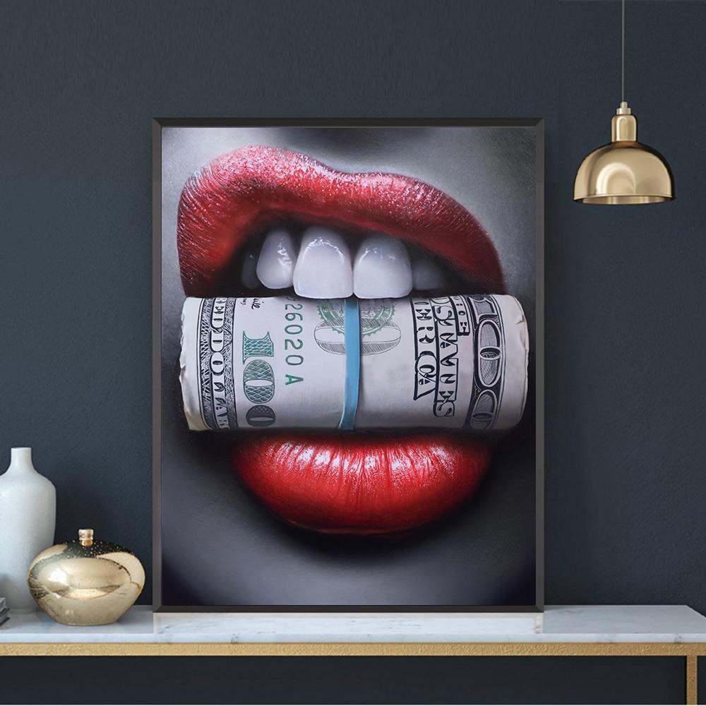 постер с долларами когда дело доходит
