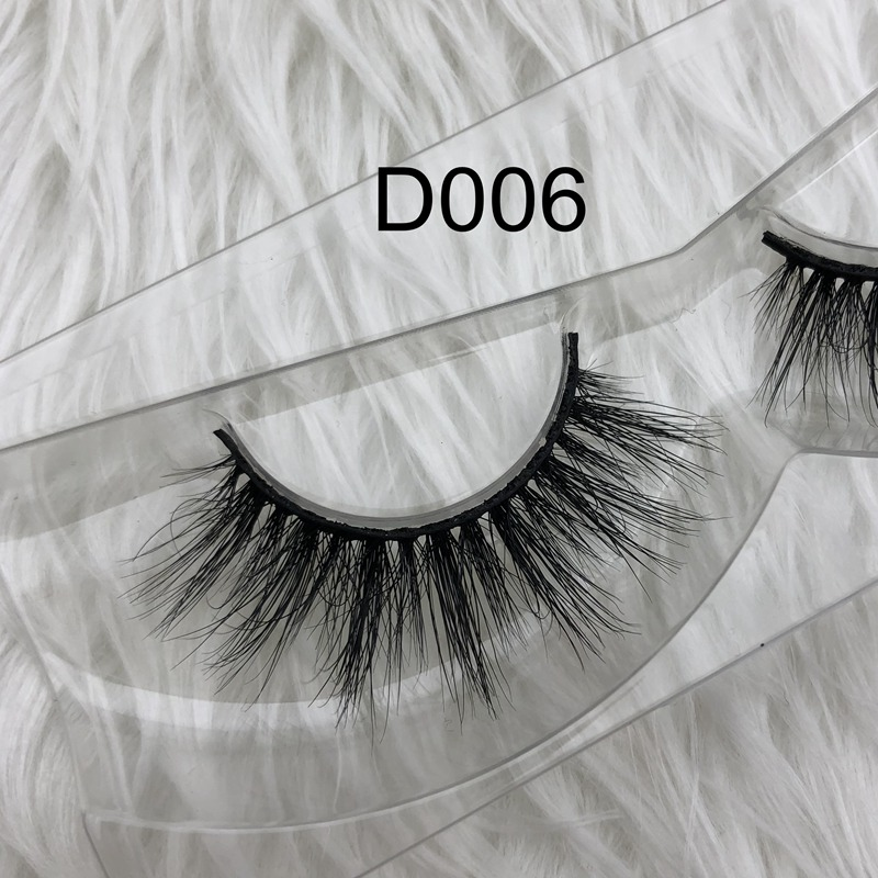 In Stock 3d Miami 100% Real Siberian Mink Strip Eyelashes 3d Mink Lashes