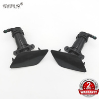 For Audi A6 C6 2004 2005 2006 2007 2008 Front Bumper Headlight Washer Lift Cylinder Spray Nozzle And Cover Cap