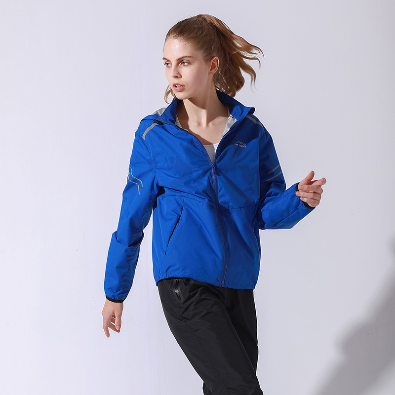 Women Outdoor Running Hooded Jackets Zipper Jogging Training Tops 2018 Fitness Sweatier Female Hot Sweat Sport Jacket