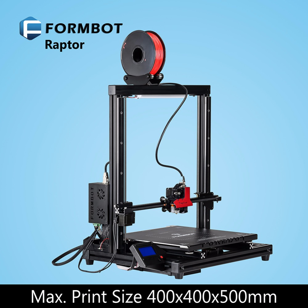FORMBOT Raptor upgraded kit very easy use resolusion factory direct sale 3D printers 1 rolls free filament as gift