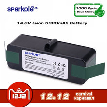SPARKOLE New Version 5.3Ah 14.8V Li-ion Battery for iRobot Roomba 500 600 700 800 Series 510 532 550 560 620 630 650 880 770 780(China)