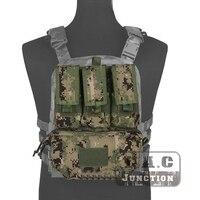 Emerson MOLLE Assault Pack Panel Multicam AOR2 Plate Carrier Back Bag w/ M4 M16 5.56 Magazine Pouch for CPC AVS JPC 2.0 Vest