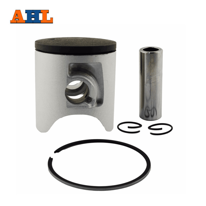 AHL Bore Size 54mm Motorcycle Standard Piston Kit Pin Rings Clips Set for YAMAHA YZ125 YZ 125 1997-2004 piston assy 68mm for honda gx200 6 5hp enges free shipping cheap kolben w rings wrist pin