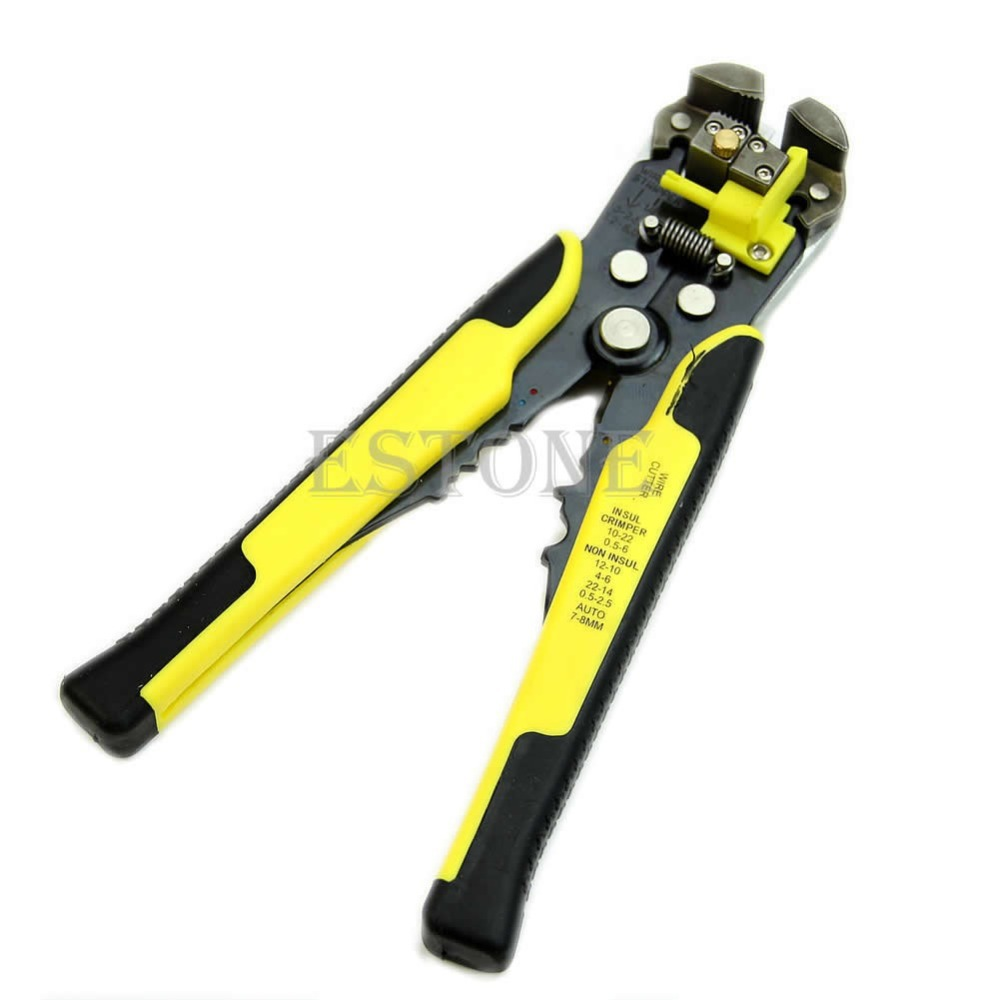 Professionnel Automatique Fil Striper Cutter Stripper Pinces À Sertir Terminal Outil