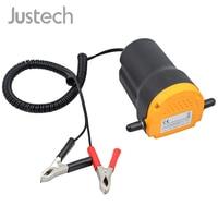 Justech Oil Diesel Extractor Suction Pump Transfer Fluid Change ATV,Jet Ski,Motorcycle,Generators 12 V DC 60W Heavy duty Pump